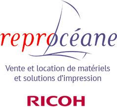 Vente et location de bureautique et solutions d'impression (Reprocéane)